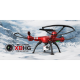 Quadricopt?re SYMA X8HG 2.4G 4 canaux avec gyro   Camera 8MP (Rouge)