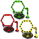 Gates, flags & bases for nano FPV racer (Yellow, Green & Red) - BEEGATE01