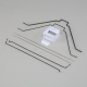 Wire Mounting Set CZ Cessna 150: Carbon-Z Floats - EFLA5605