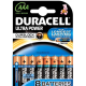 Pack de 8 piles Duracell Ultra Power LR3 Micro AAA - 15127