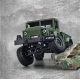 Camion Militaire US 1/16 Green RTR - 1112438531
