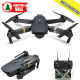 Eachine E58 WIFI FPV Camera High Hold Mode Foldable RC Drone Quadcopter RTF	TBC - SKU789348-2mp-3bat