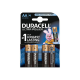 Pack de 4 piles Duracell Ultra Power LR6 Mignon AA - 15122